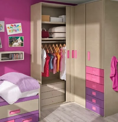 Armarios para habitaciones juveniles viva el orden for Armarios habitacion puertas correderas