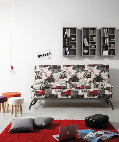 Cómo elegir sofá cama. Sofá cama Boook de Kibuc