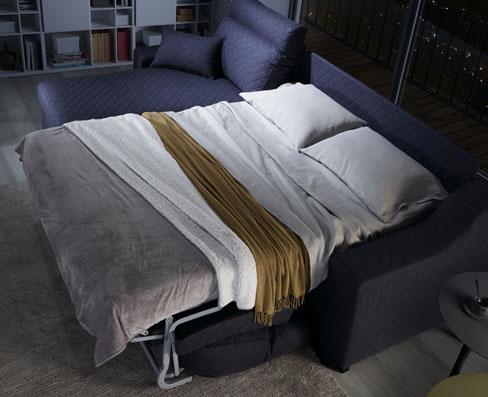 Cómo elegir sofá cama. Sofá Friend de Kibuc con sistema de apertura italiano