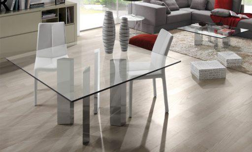 Mesa de vidrio Kenia de Kibuc