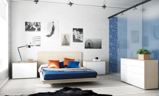 Muebles para ordenar en el dormitorio. Cómoda de la colección Pasión de Kibuc.