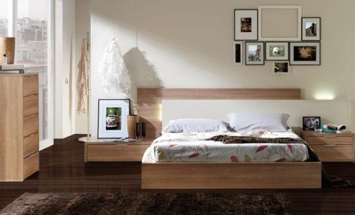 Dormitorio de la colección Nuit de Kibuc