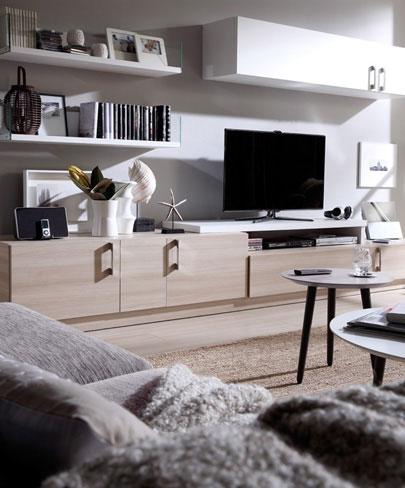 Ideas para organizar tu casa. Mueble de comedor de la colección Eko-s de Kibuc