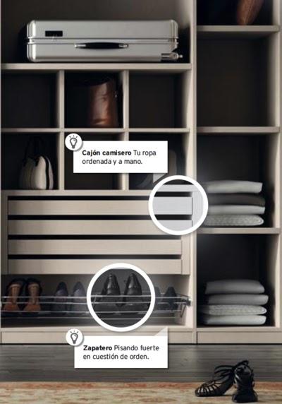 Ideas para organizar tu casa. En Kibuc puedes personalizar en interior de tu armario.