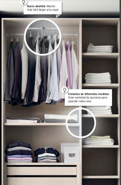 Ideas para organizar tu casa. En Kibuc puedes personalizar en interior de tu armario