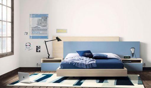 Iluminar el dormitorio. Dormitorio de la colección Nuit de Kibuc