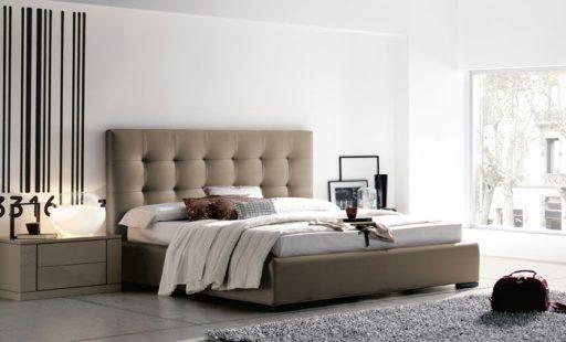 Iluminar el dormitorio. Cama Wendy de Kibuc