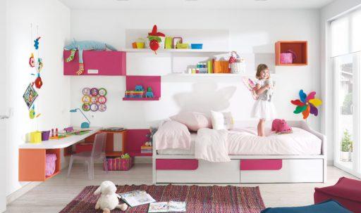 Consejos para iluminar dormitorios infantiles. Dormitorio Ringo de Kibuc