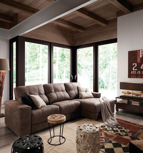 Ideas para crear una casa relajante. Sofá Sidney de Kibuc