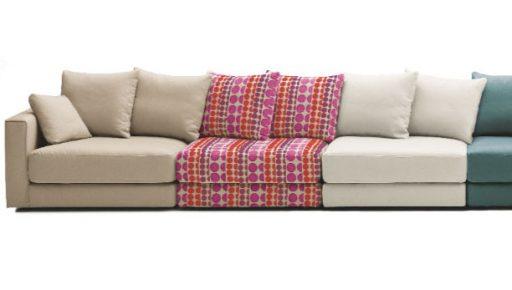 Consejos para elegir sofá. En Kibuc muchas telas para escoger