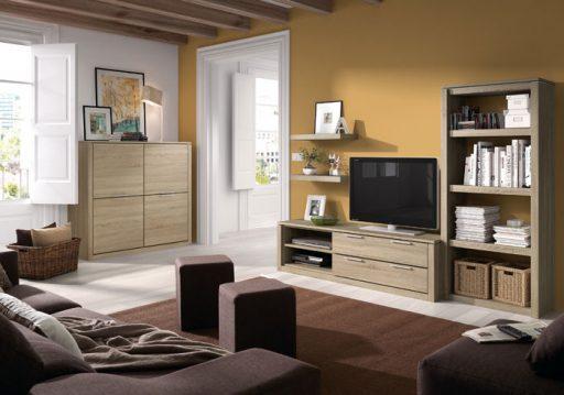 Elegir colores para pintar el salón. Mueble de comedor Athos