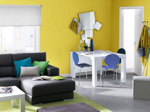 Elegir colores para pintar el salón. Taules Kreta