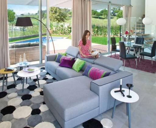 Consejos para elegir sofá. Sofá Makati de Kibuc