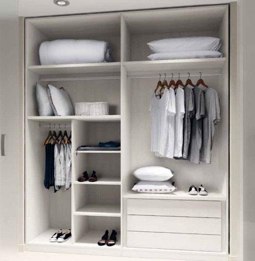 Ideas para organizar el dormitorio. En Kibuc puedes personalizar los interiores de armarios