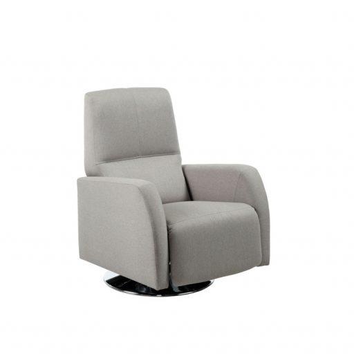 Butacas Relax. Butaca Cubic de Kibuc, estilo nórdico, pie giratorio