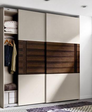 Ideas para organizar el dormitorio. Armario de la colección Slaap de Kibuc