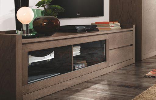 Almacenaje para el salón. Módulo TV de la colección High Quality Aiko de Kibuc