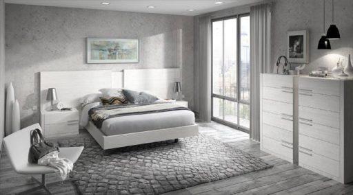 Nos vamos a vivir juntos. Consejos para decorar vuestro primer hogar. Dormitorio de la colección Doria de Kibuc.