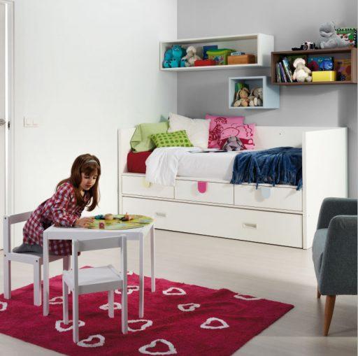 Mesa de la colección Kids. Diseñando una habitación infantil
