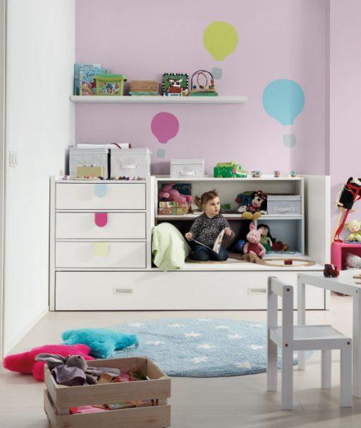Trucos para diseñar una habitación infantil. Convertible de la colección Kids