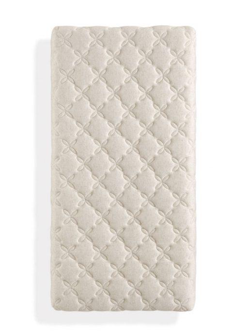 Cómo elegir el colchón de cuna. Colchón flor: transpirable, higiene garantizada, tejido suave y natural y seguridad certificada.