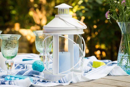 Ideas para decorar una mesa de verano by Kibuc. Con velas