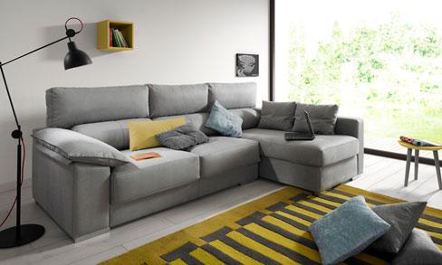 Los sofás más relajantes del verano by Kibuc. Sofá Theo de dos plazas con brazo Siesta