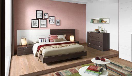 Descubre qué es el color acento. Dormitorio de la colección Nuit