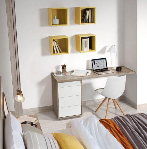 Consejos para decorar una zona de trabajo en casa. Práctica zona de trabajo Nuit.