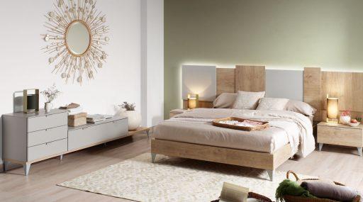 Consejos para iluminar dormitorios, Dormitorio Nuit