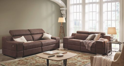 Decorar el sofá con cojines. Nuevo sofá Davao de Kibuc
