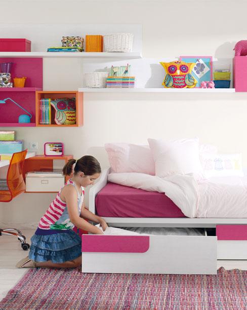 Trucos para diseñar una habitación infantil. Dormitorio infantil Ringo colorista