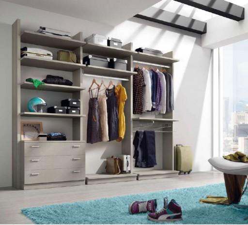 Ideas para organizar el vestidor