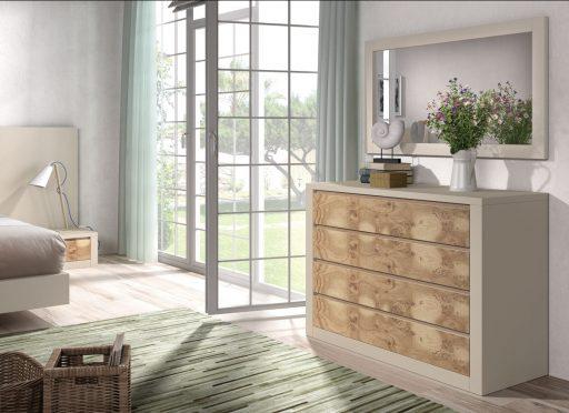Consejos para un decoración de estilo natural. Dormitorio Asai