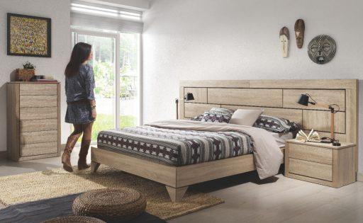 Decorar una casa saludable en la que sentirte feliz. Dormitorio Doria