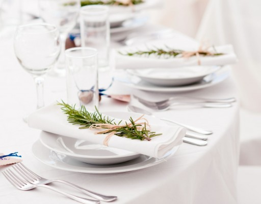 Ideas inspiradoras para decorar tu mesa. Flores