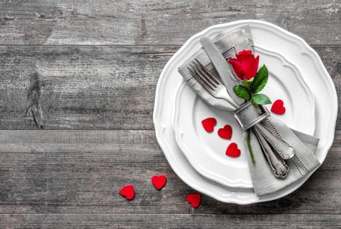Ideas inspiradoras para decorar tu mesa. Corazones
