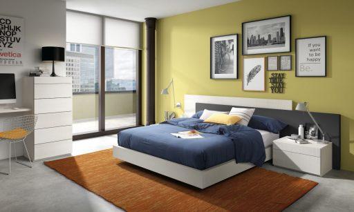Colores que favorecen el descanso y la armonía en el dormitorio. Dormitorio Nuit