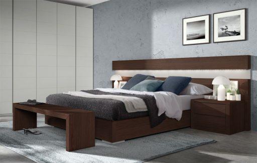 Ideas para aprovechar el espacio del dormitorio. Dormitorio Asai