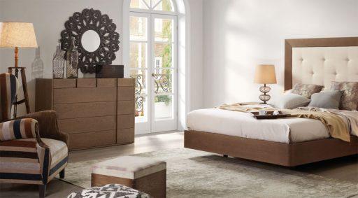 Ideas para aprovechar el espacio del dormitorio. Cómoda Asai