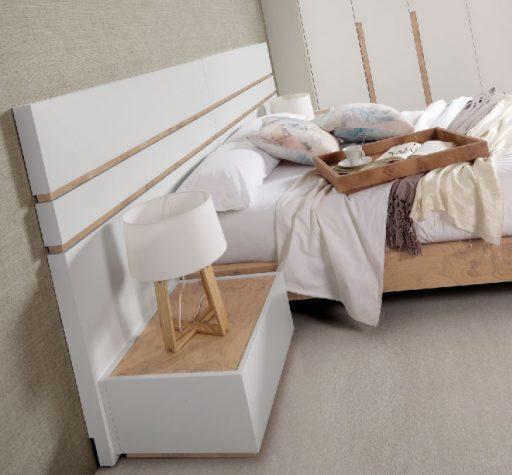 Consejos para iluminar dormitorios, Dormitorio Asai