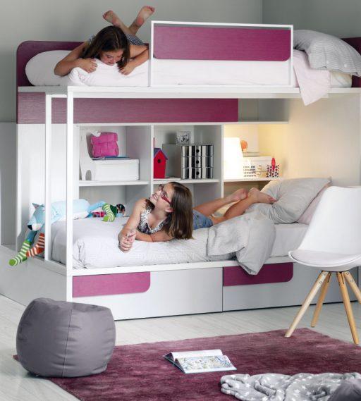 Consejos para iluminar dormitorios, Dormitorio juvenil Ringo