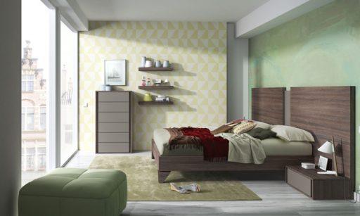 dormitorio-decoración-verde
