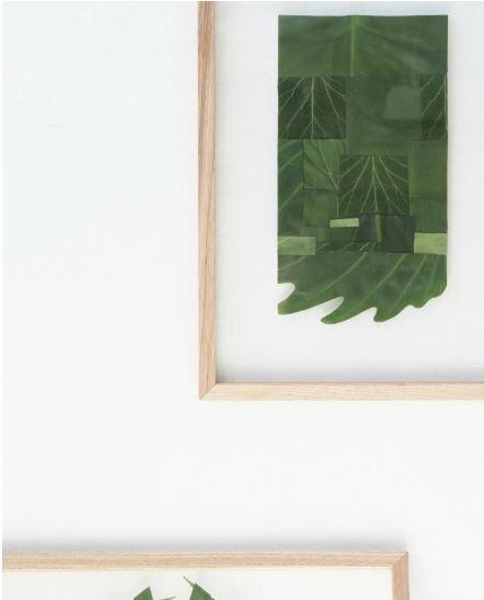 DIY-wallart-hojas