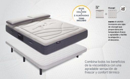 promoción-colchón-pack-memory-gel